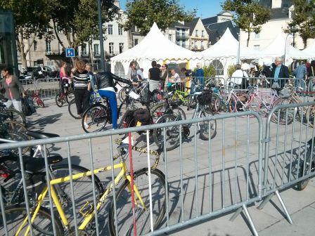 Vannes : Bourse aux vélos le Samedi 20 septembre 2014