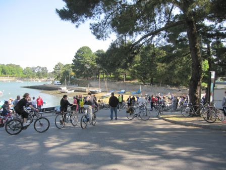 Convergence en vélo avec BicyRhuys le jeudi 14 mai.